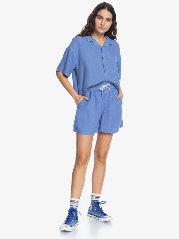 Surf Camp - Short Sleeve Shirt for Women  EQWWT03065