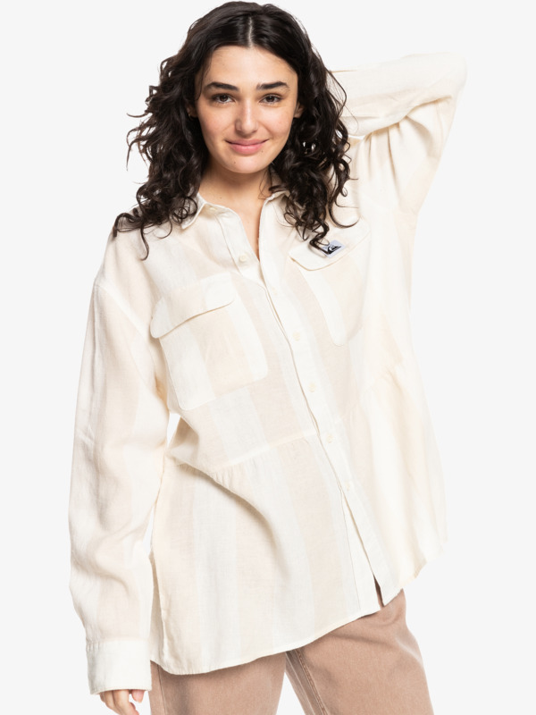 Quiksilver Womens Trip Out - Long Sleeve Shirt for Women  EQWWT03069