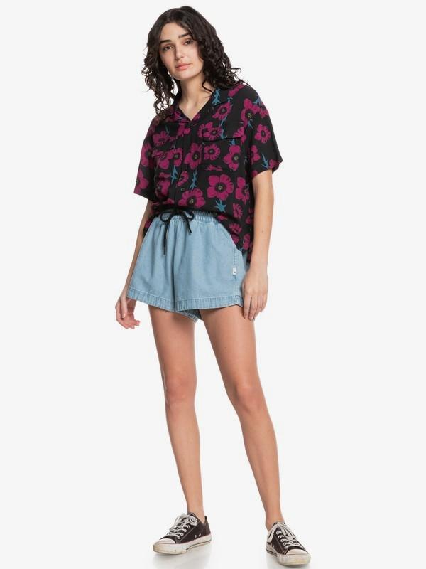 Quiksilver Womens Destination Trip - Short Sleeve Shirt for Women  EQWWT03072