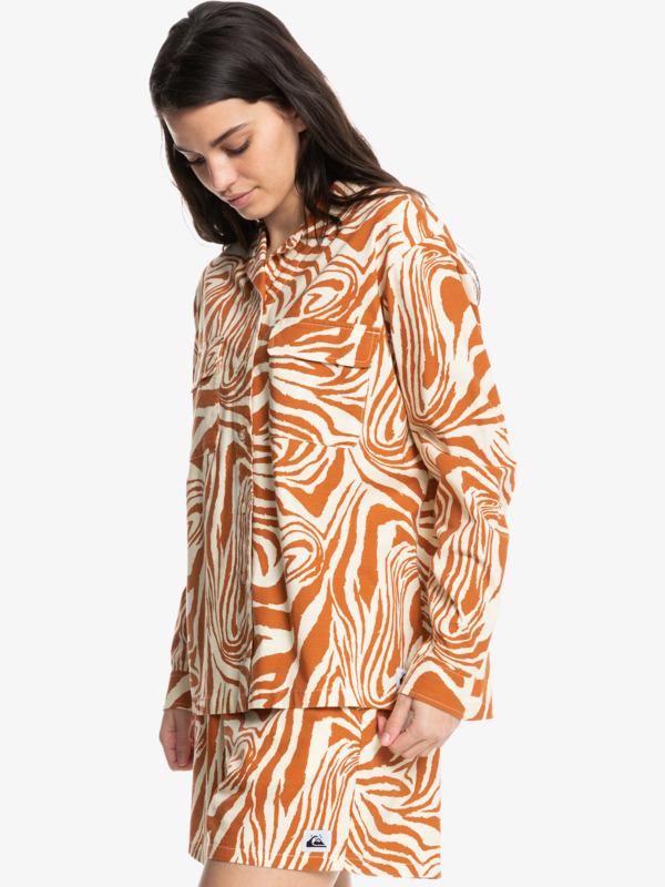 Destination Trip - Long Sleeve Shirt for Women  EQWWT03075