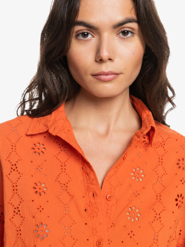 Eyelet - Long Sleeve Shirt for Women  EQWWT03080