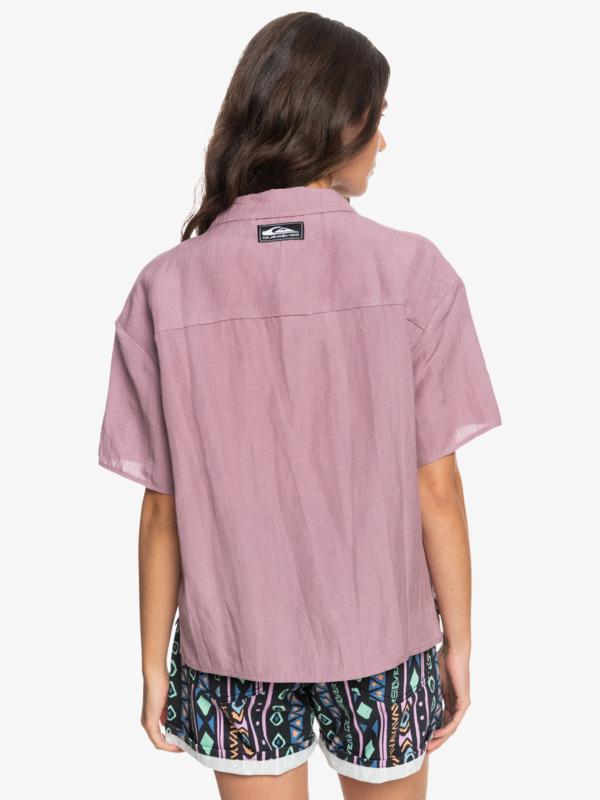 Surf C Amphibian - Boxy Camp Shirt for Women  EQWWT03083