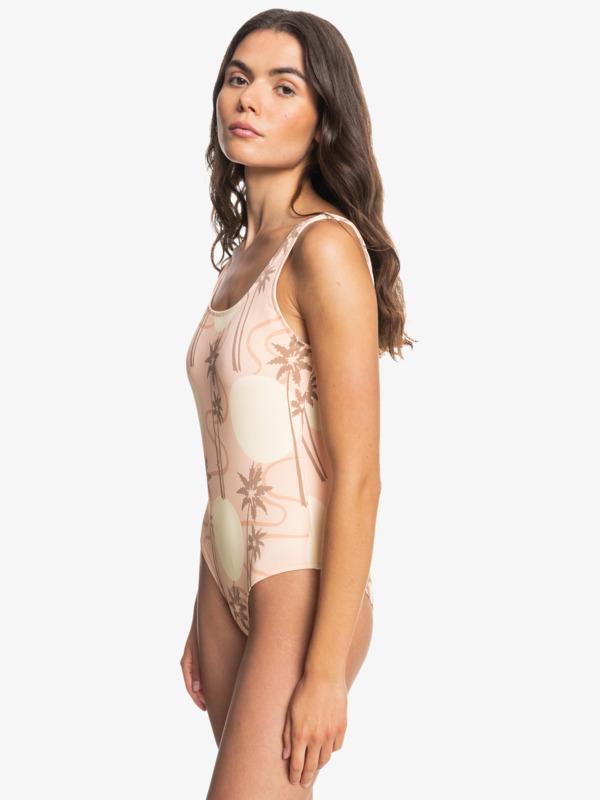Classic Rib AOP Tank - One Piece Swimsuit for Women  EQWX103035