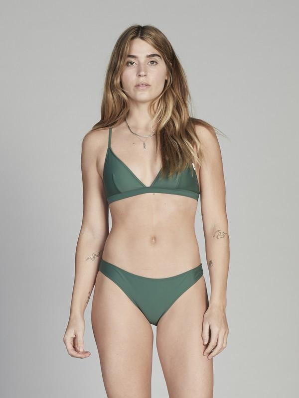 0 Quiksilver Womens - Bikini Top for Women Green EQWX303001 Quiksilver