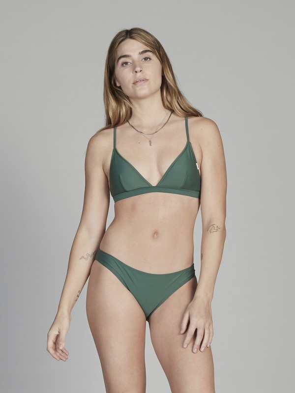 0 Quiksilver Womens - Bikini Bottoms for Women Green EQWX403002 Quiksilver