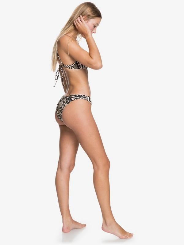 Quiksilver Womens Classic - Recycled Tie-Side Bikini Bottoms for Women  EQWX403023