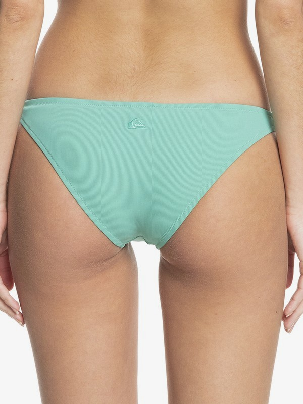 Quiksilver Womens Classic - Recycled Cheeky Bikini Bottoms for Women  EQWX403028