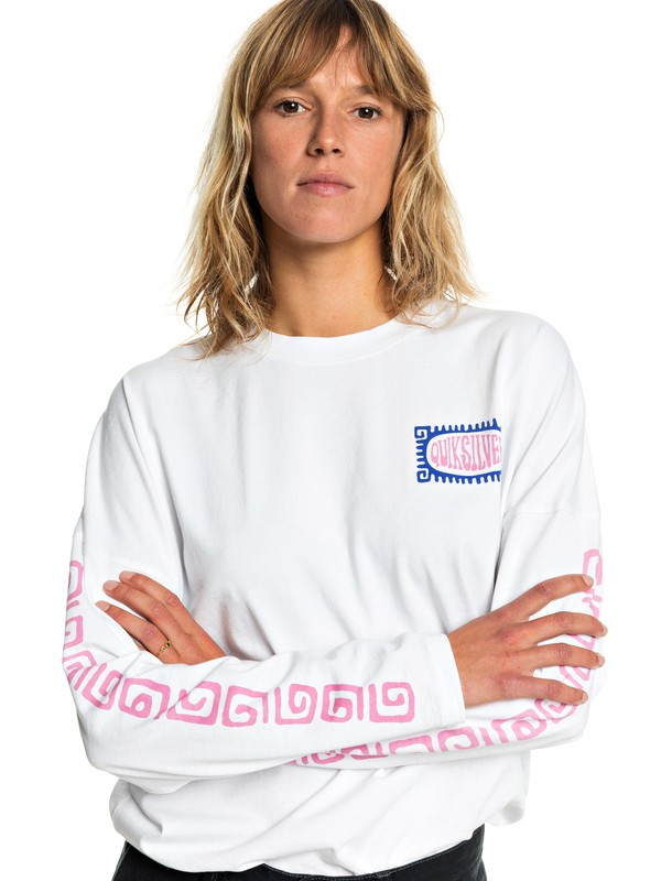 Quiksilver Womens - Long Sleeve T-Shirt for Women  EQWZT03008