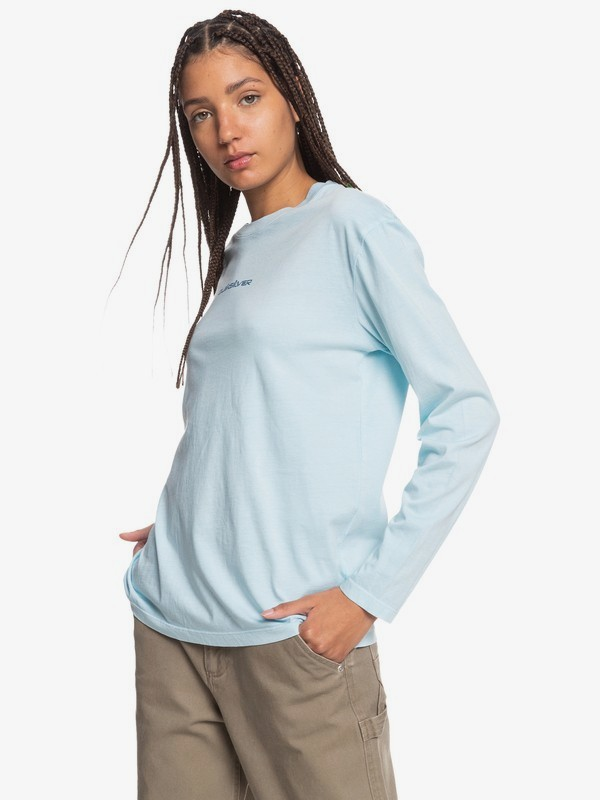 Standard - Organic Long Sleeve T-Shirt for Women  EQWZT03023