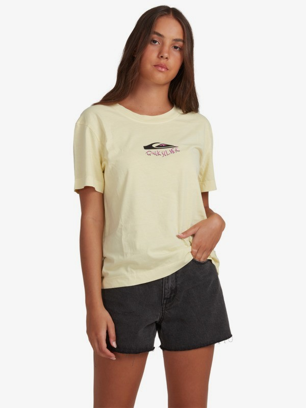 Quiksilver Womens - Organic T-Shirt for Women  EQWZT03025