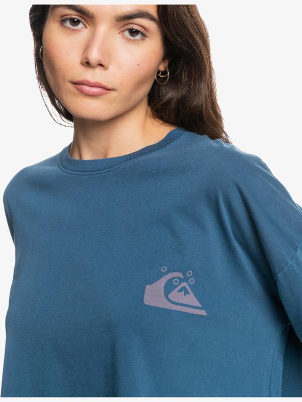 Quiksilver Womens Oversized Crop - Organic Long Sleeve T-Shirt for Women  EQWZT03045