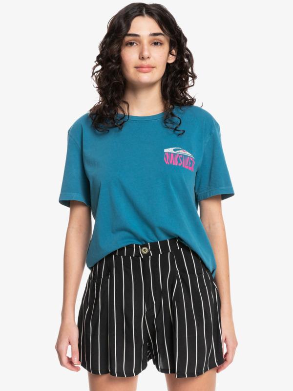 Quiksilver Womens Mono Cat Standard - Organic T-Shirt for Women  EQWZT03053