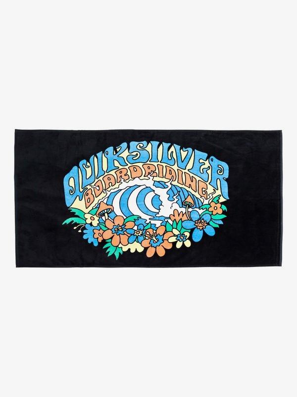 0 Freshness - Beach Towel Black EQYAA03602 Quiksilver