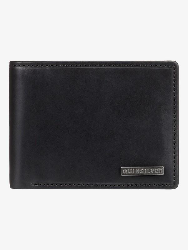 0 New Classical Plus - Bi-Fold Wallet Black EQYAA03744 Quiksilver