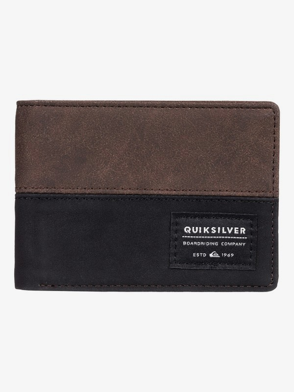 0 Nativecountry - Cartera de Doble Hoja Marron EQYAA03754 Quiksilver