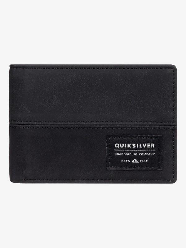 0 Nativecountry - Bi-Fold Wallet Black EQYAA03754 Quiksilver