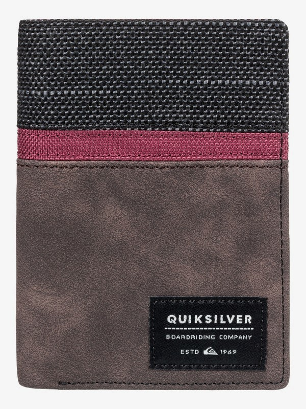 0 Stormery - Bi-Fold Wallet Brown EQYAA03761 Quiksilver