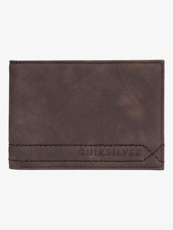0 Stitchy - Bi-Fold Wallet Brown EQYAA03775 Quiksilver