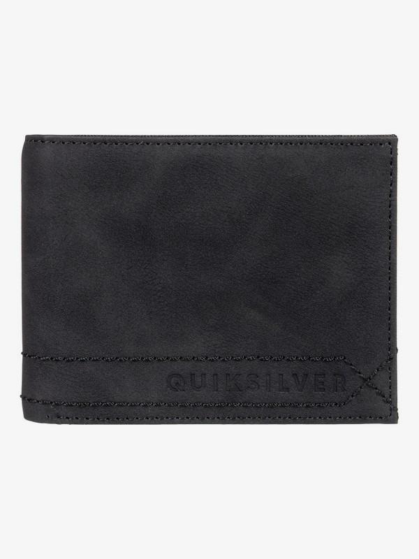 0 Stitchy - Bi-Fold Wallet Black EQYAA03775 Quiksilver
