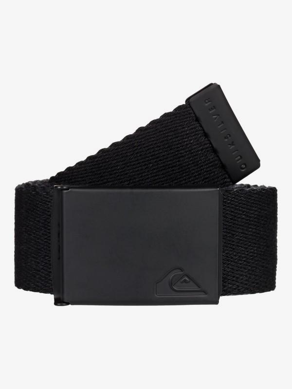 0 The Jam - Webbing Belt for Men Black EQYAA03791 Quiksilver