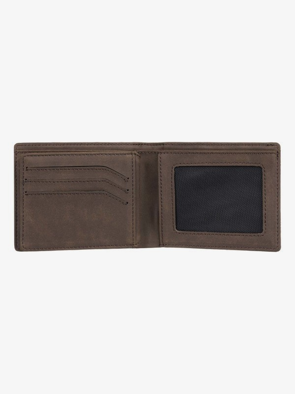 Supply Slim - Bi-Fold Leather Wallet for Men EQYAA03838
