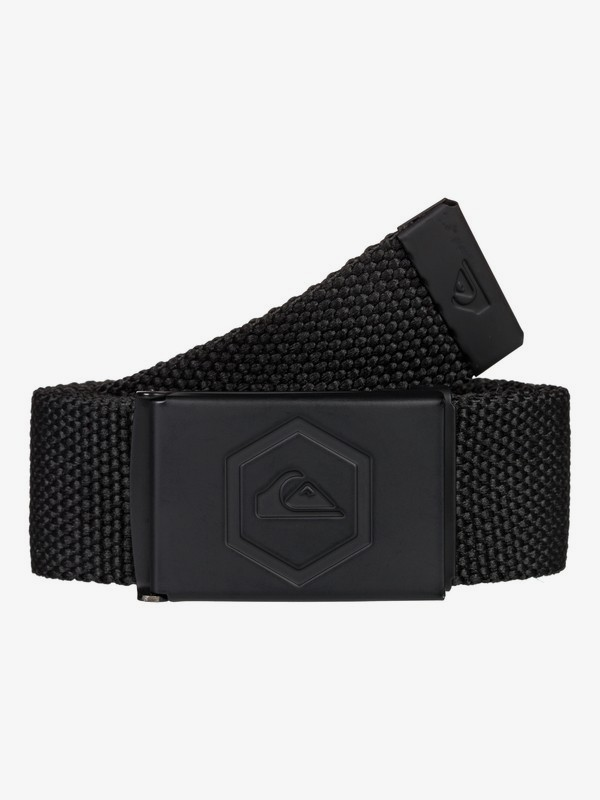 0 Principle - Webbing Belt for Men Black EQYAA03840 Quiksilver