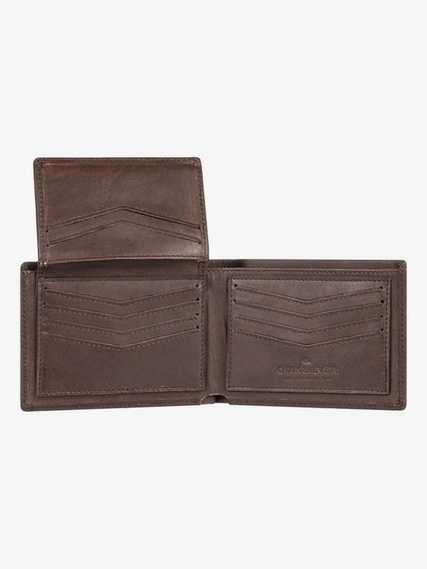 Acktor - Leather Bi-Fold Wallet for Men  EQYAA03897