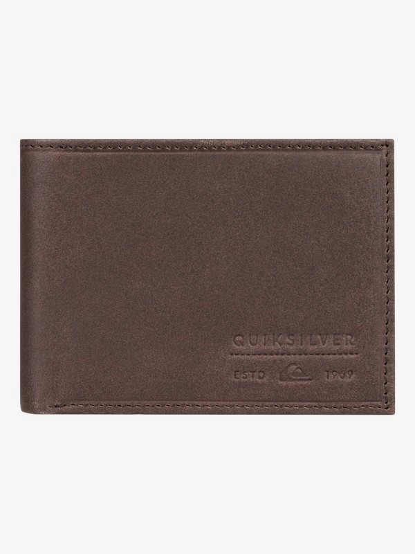 Minimack - Leather Bi-Fold Wallet for Men  EQYAA03927