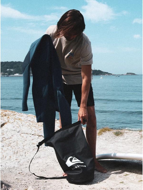 0 Water Stash - Mochila de Surf Pequeña con Parte Superior Enrollable Negro EQYBA03152 Quiksilver