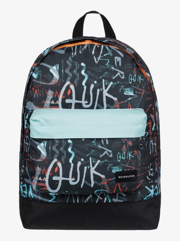0 Everyday Poster - Medium Backpack Black EQYBP03277 Quiksilver