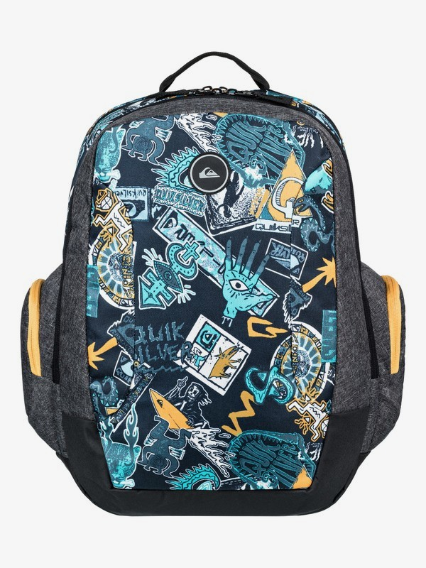 0 Schoolie 30L - Large Backpack Yellow EQYBP03498 Quiksilver