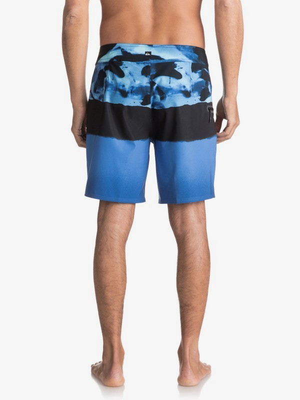 "Blocked Resin Camo 18"" - Board Shorts for Men  EQYBS03741"