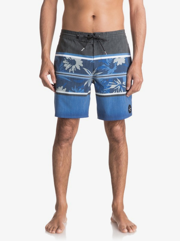 "0 Swell Vision 18"" - Beachshorts for Men Black EQYBS03773 Quiksilver"