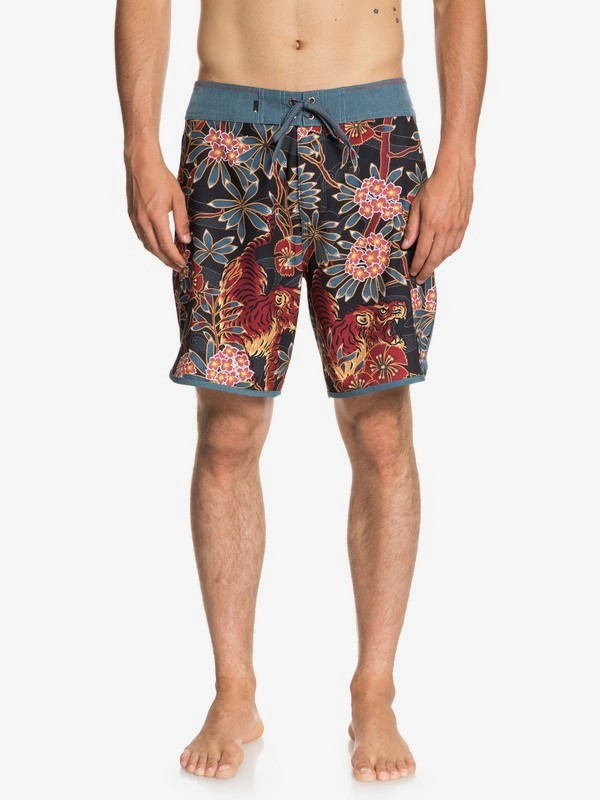"0 Highline Silent Fury 18"" - Board Shorts for Men  EQYBS04007 Quiksilver"