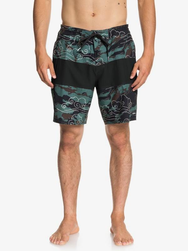 "0 Baja Variable 18"" - Pantalones cortos de playa para Hombre Azul EQYBS04022 Quiksilver"