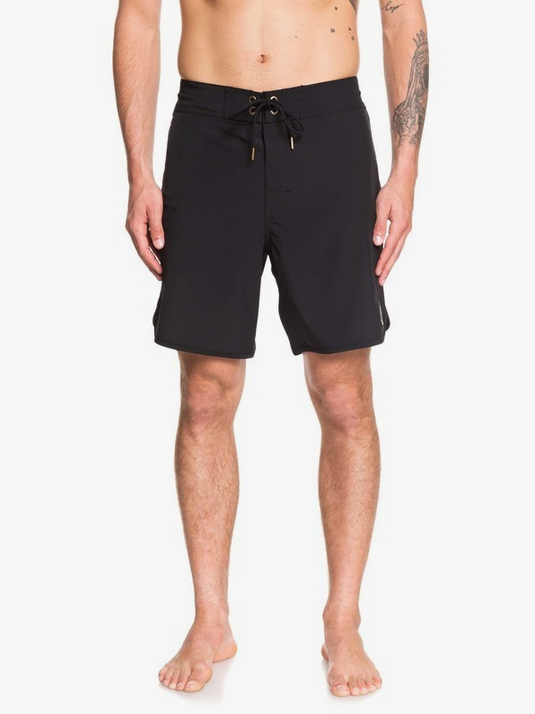"0 Highline Scallop 18"" - Board Shorts for Men Black EQYBS04081 Quiksilver"