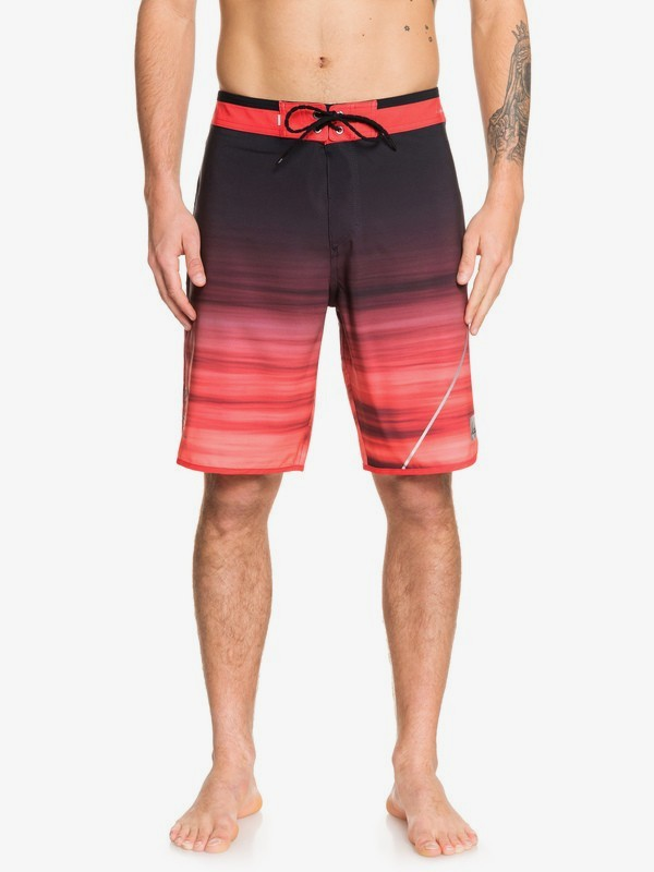 "0 Highline New Wave 20"" - Board Shorts for Men Red EQYBS04088 Quiksilver"