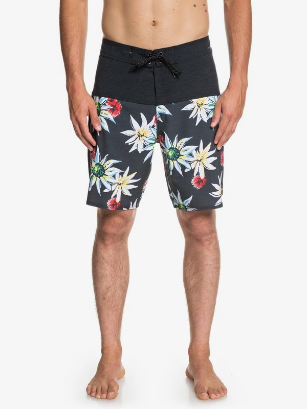 "0 Highline Devils Tea 19"" - Board Shorts for Men Black EQYBS04107 Quiksilver"