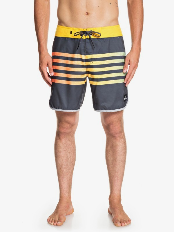 "0 Everyday Grass Roots 17"" - Board Shorts for Men Black EQYBS04125 Quiksilver"