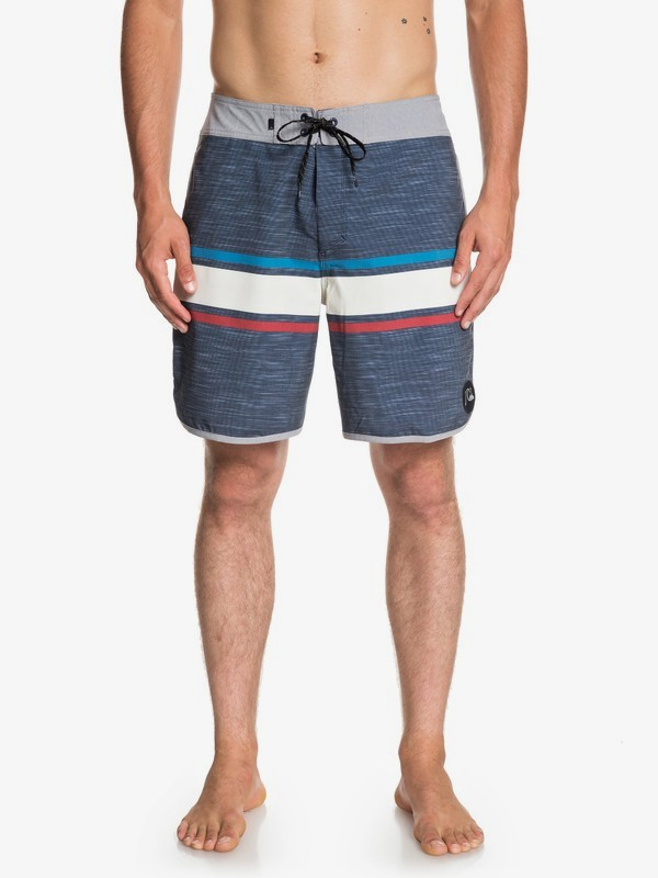 "0 Seasons 18"" - Beachshort da Uomo Blue EQYBS04131 Quiksilver"