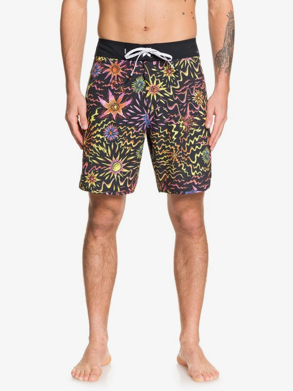 "0 Highline Tripper 18"" - Board Shorts for Men Black EQYBS04216 Quiksilver"