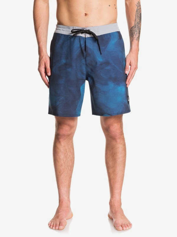 "0 Baja Acid 18"" - Beachshorts for Men Blue EQYBS04235 Quiksilver"