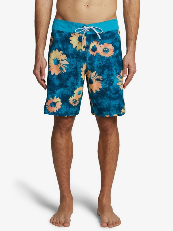 "Highline Sprayed Daisy 19"" - Board Shorts for Men  EQYBS04371"