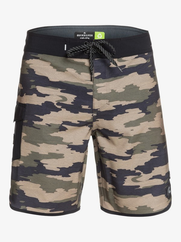 "Highline HI Variable Scallop 19"" - Board Shorts for Men  EQYBS04428"
