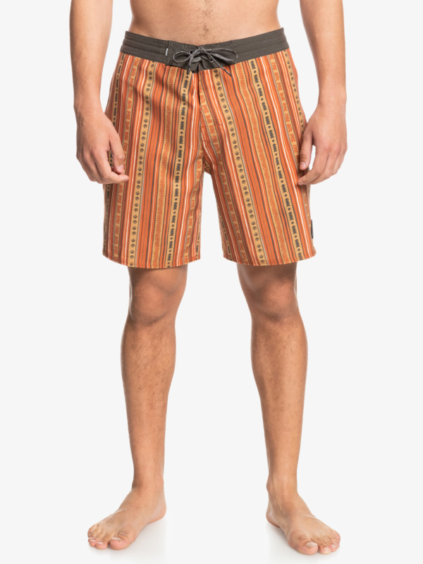 """Variable 18"""" - Recycled Beachshorts for Men  EQYBS04587"""