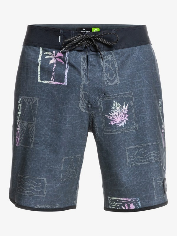 """Surfsilk Hawaii Scallop 19"""" - Recycled Board Shorts for Men  EQYBS04612"""