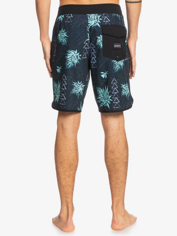"Surfsilk Hawaii Scallop 19"" - Recycled Board Shorts for Men  EQYBS04612"