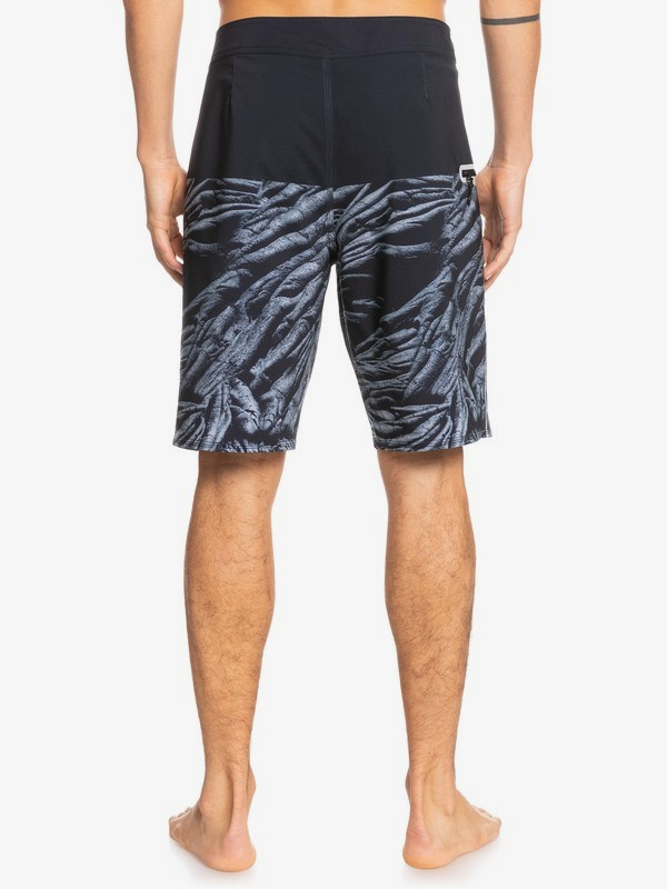 "Surfsilk Black Lava 20"" - Recycled Board Shorts for Men  EQYBS04615"