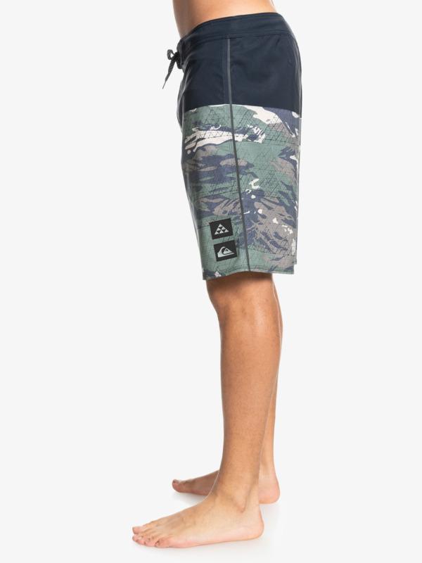 "Surfsilk Black Lava 20"" - Recycled Board Shorts for Men  EQYBS04615"