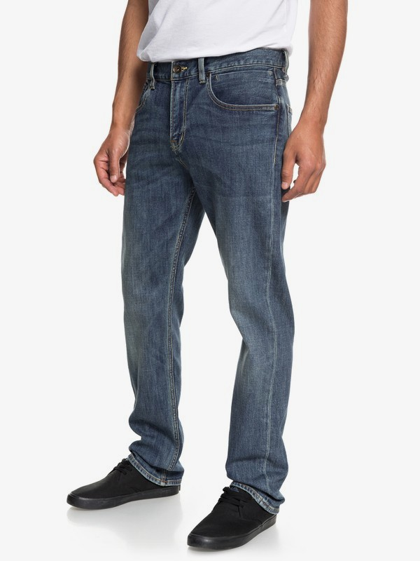 Sequel Medium Blue - Regular Fit Jeans for Men EQYDP03373